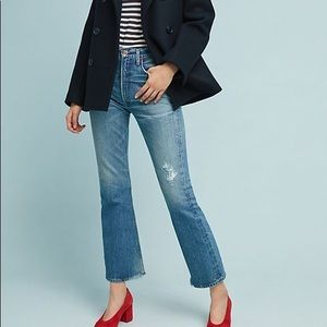 Citizens of Humantiy Estella Cropped Flare Jeans
